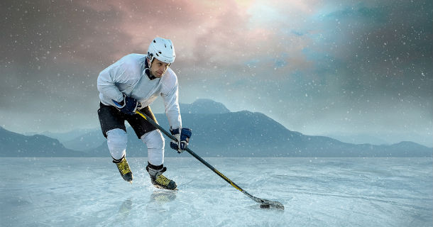 Avoiding Outdoor Hockey Injuries.